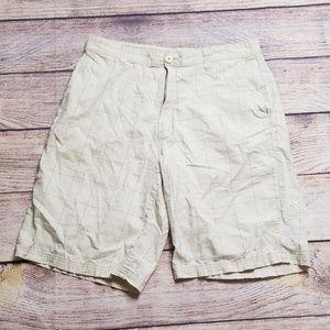 Body Glove tan 36 cotton shorts